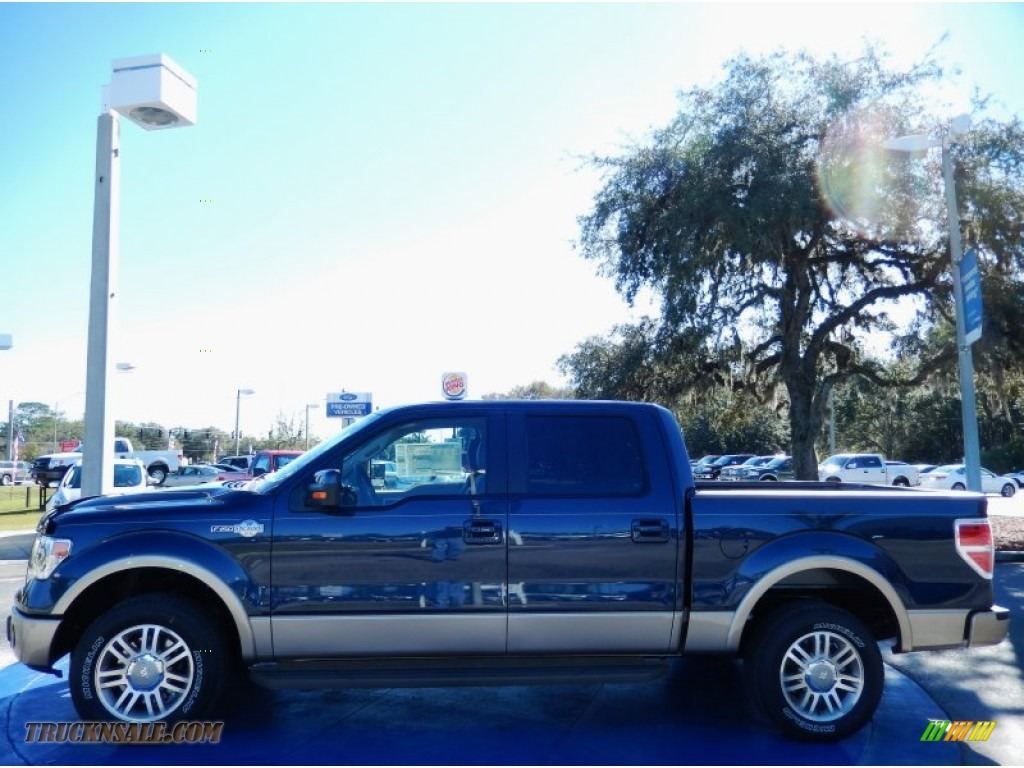 2014 ford f150 king ranch supercrew in blue jeans d13590 truck n 39 sale