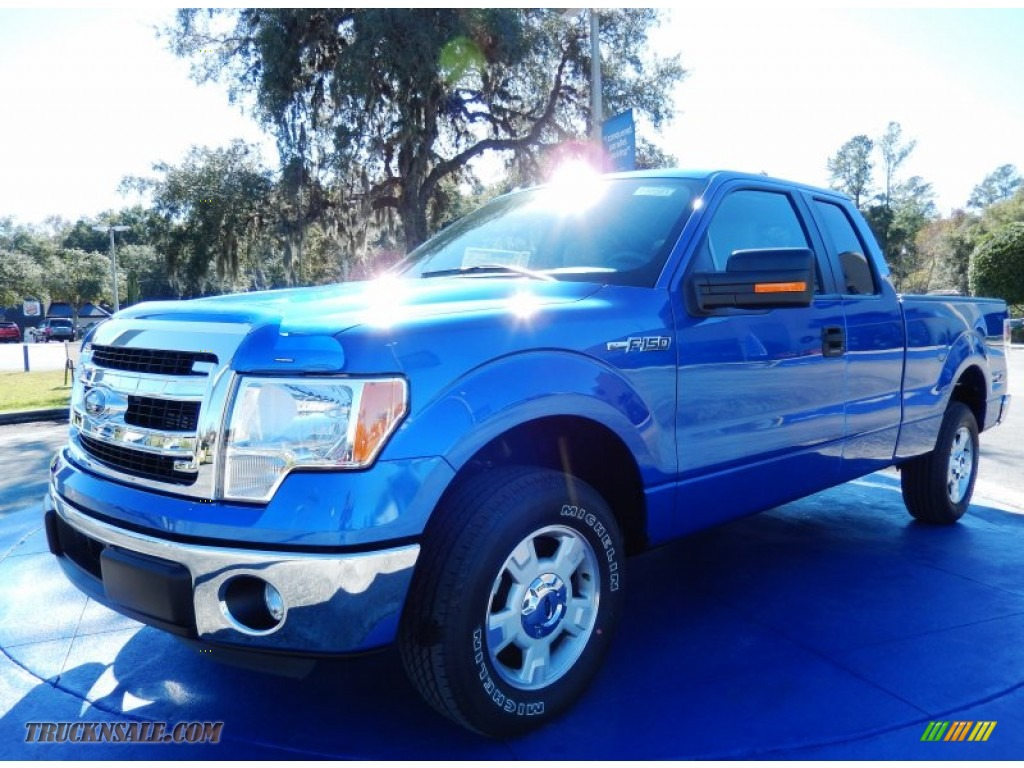 2014 ford f150 xlt supercab in blue flame a36171 truck n sale