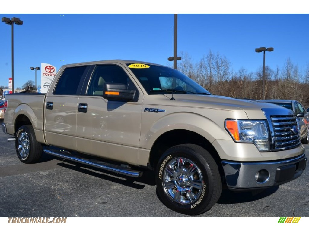Blue Ridge Nissan >> 2010 Ford F150 XLT SuperCrew in Pueblo Gold Metallic - B70401 | Truck N' Sale