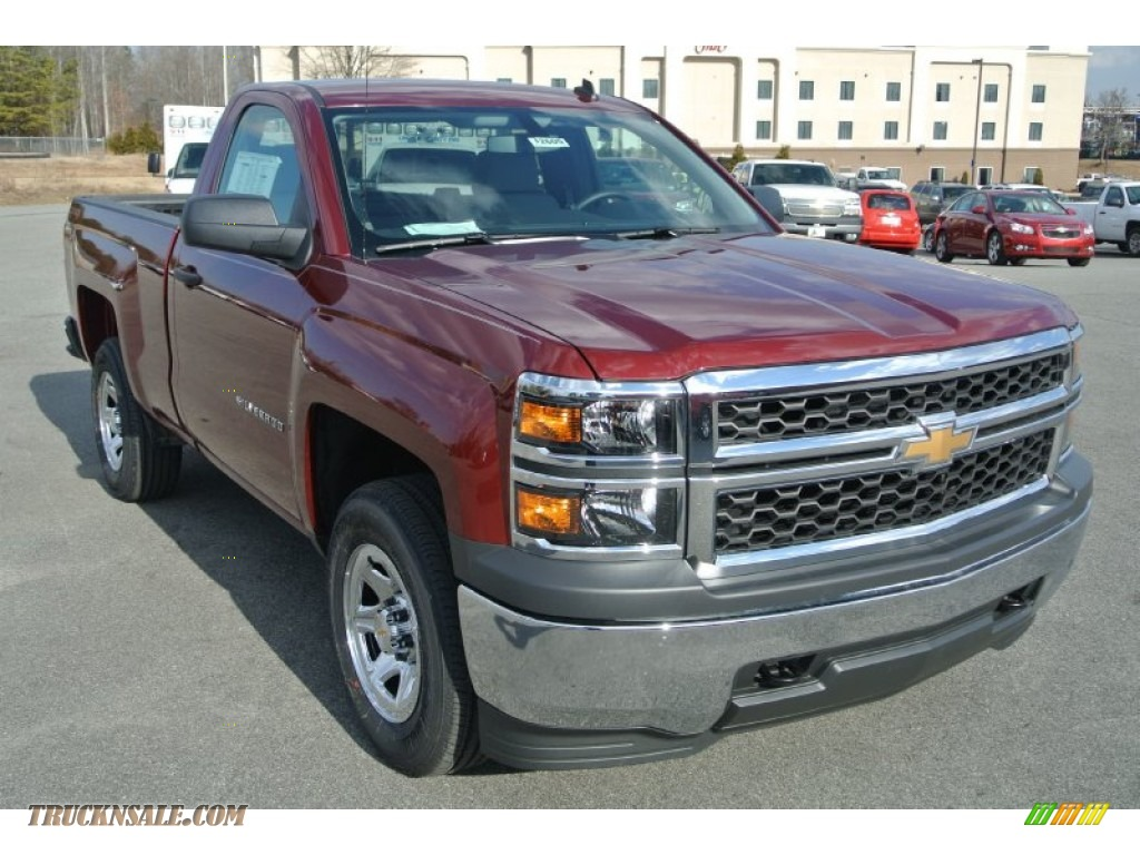 2014 chevrolet silverado 1500 wt regular cab 4x4 in deep ruby metallic 227292 truck n 39 sale. Black Bedroom Furniture Sets. Home Design Ideas