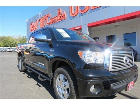 Black 2013 Toyota Tundra Limited CrewMax