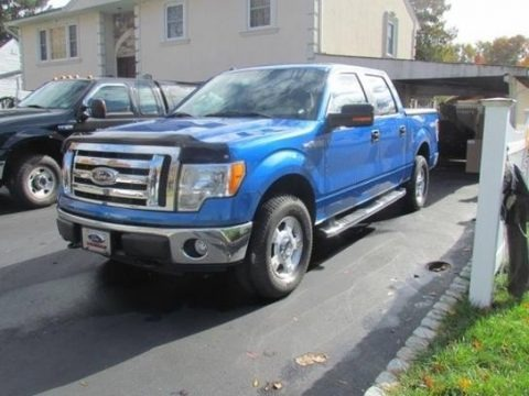 Blue Flame Metallic 2010 Ford F150 XLT SuperCrew 4x4