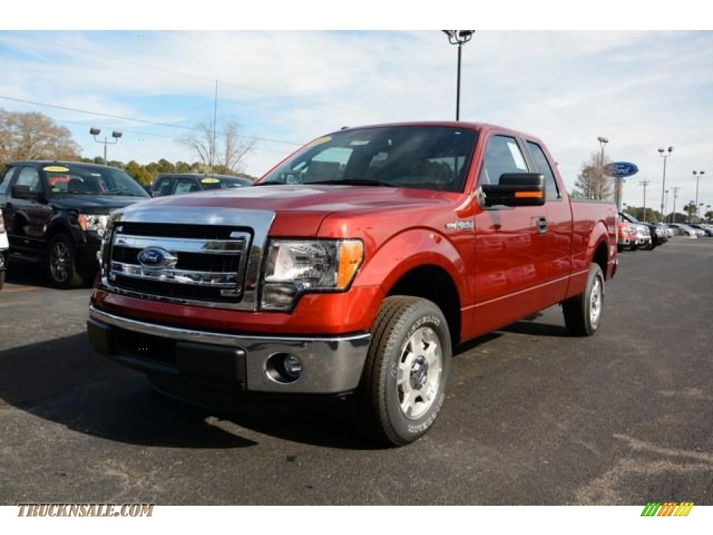 2014 ford f150 xlt supercab in sunset a46482 truck n 39 sale. Black Bedroom Furniture Sets. Home Design Ideas