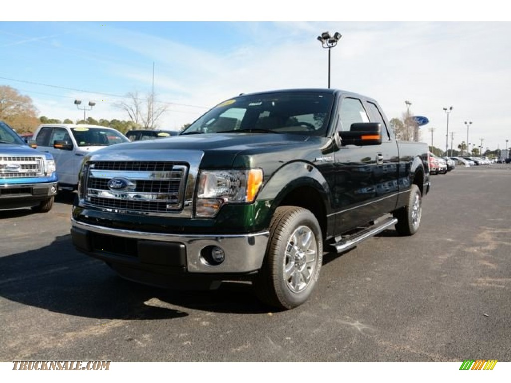 2014 ford f150 xlt supercab in green gem a40857 truck n 39 sale. Black Bedroom Furniture Sets. Home Design Ideas