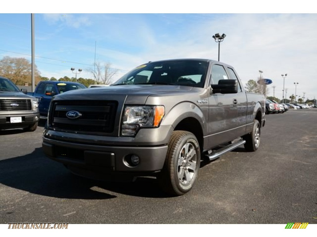 2014 ford f150 stx supercab in sterling grey a40856 truck n 39 sale. Black Bedroom Furniture Sets. Home Design Ideas