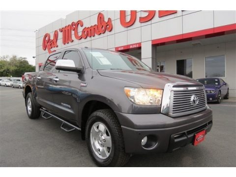 Magnetic Gray Metallic 2011 Toyota Tundra Limited CrewMax 4x4