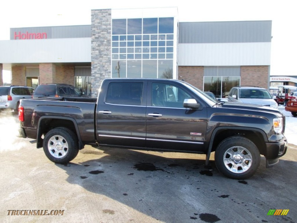 2014 Gmc Sierra 1500 Sle Crew Cab 4x4 In Iridium Metallic