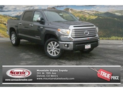 Magnetic Gray Metallic 2014 Toyota Tundra Limited Crewmax 4x4