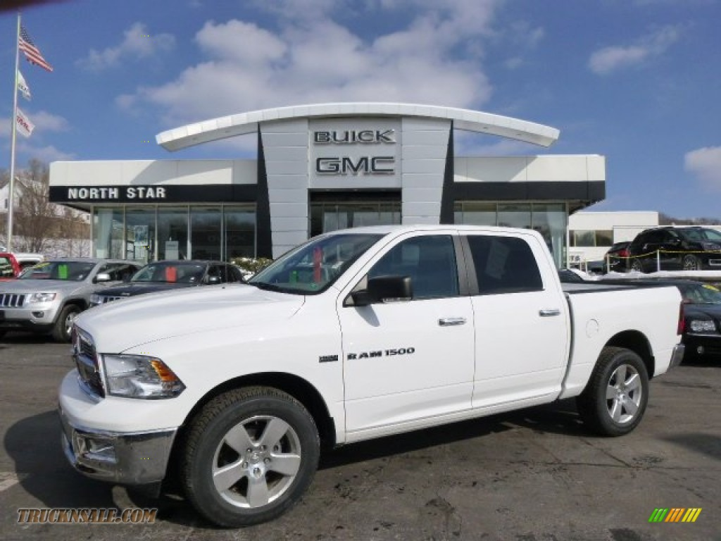 2012 dodge ram 1500 slt crew cab 4x4 in bright white 346213 truck n 39 sale. Black Bedroom Furniture Sets. Home Design Ideas
