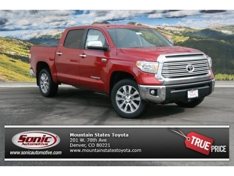 Barcelona Red Metallic 2014 Toyota Tundra Limited Crewmax 4x4