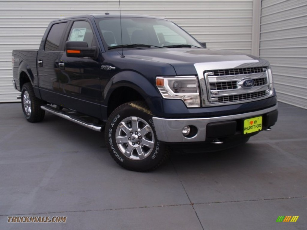 2014 ford f150 xlt supercrew 4x4 in blue jeans d44641 truck n 39 sale. Black Bedroom Furniture Sets. Home Design Ideas