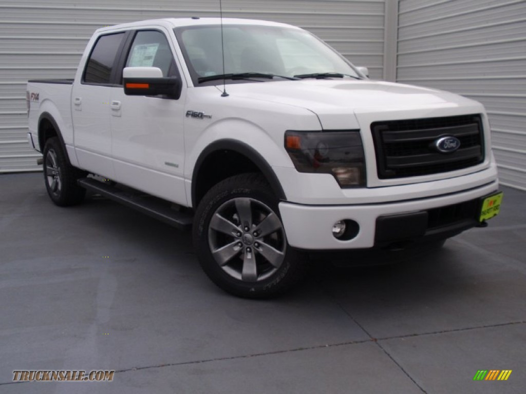 2014 ford f150 fx4 supercrew 4x4 in oxford white d51767 truck n 39 sale. Black Bedroom Furniture Sets. Home Design Ideas
