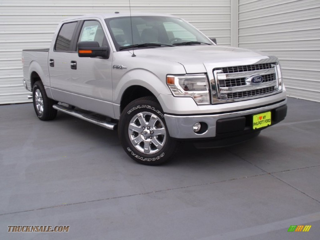 2014 ford f150 xlt supercrew in ingot silver d51760 truck n 39 sale. Black Bedroom Furniture Sets. Home Design Ideas