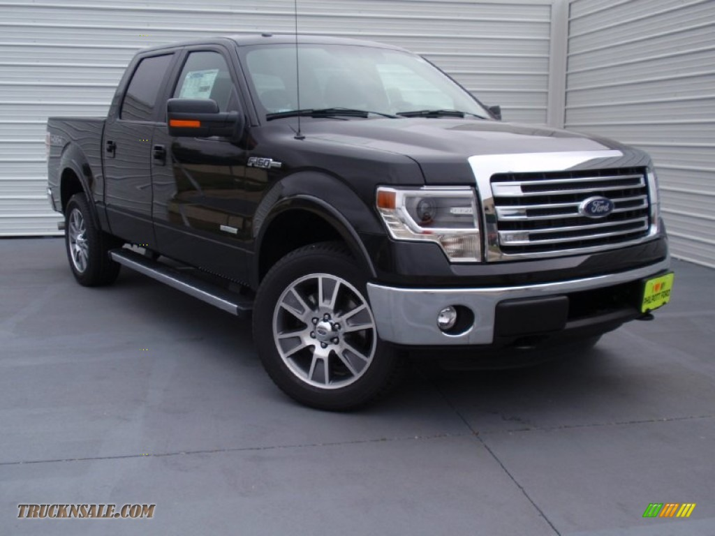 2014 ford f150 lariat supercrew 4x4 in tuxedo black d44642 truck n 39 sale. Black Bedroom Furniture Sets. Home Design Ideas