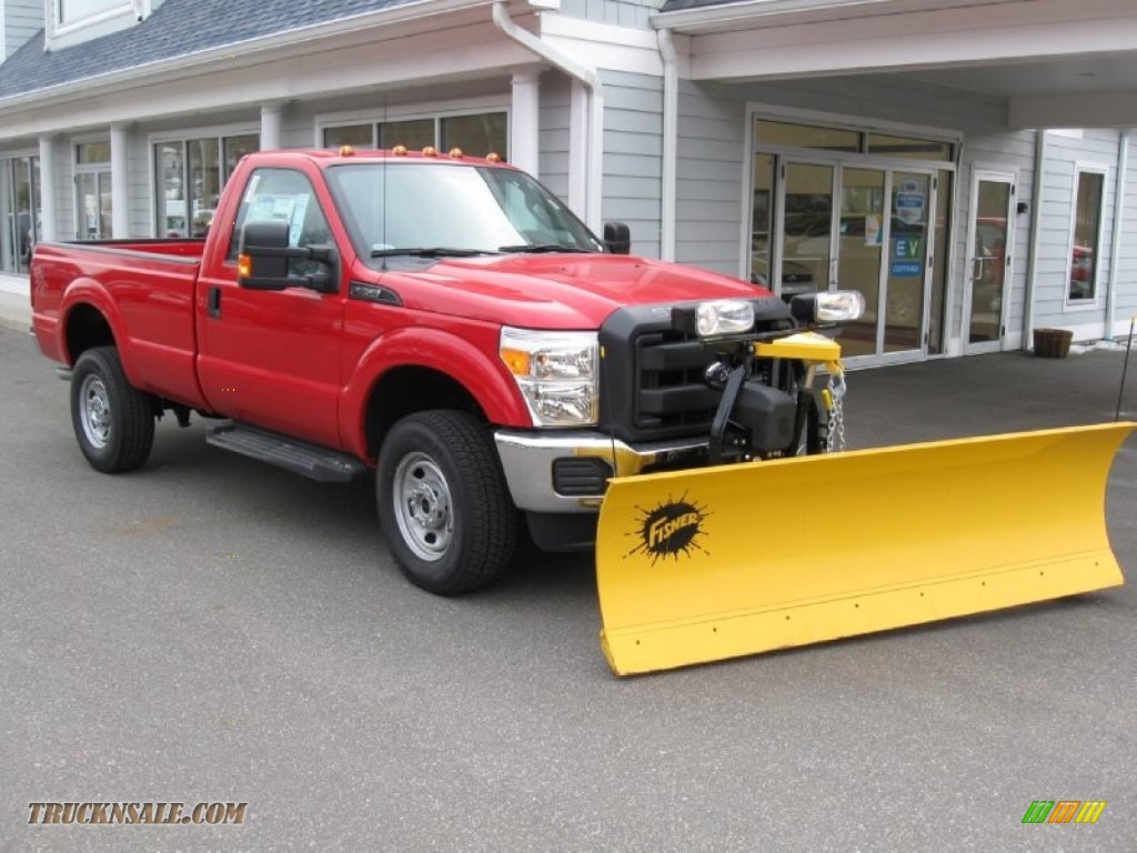 Ford F350 Dump Truck For Sale 2014 Ford F350 Super Duty XL Regular Cab 4x4 Plow Truck in ...
