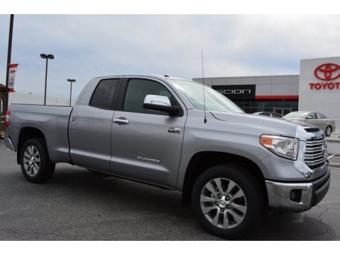 Silver Sky Metallic 2014 Toyota Tundra Limited Double Cab
