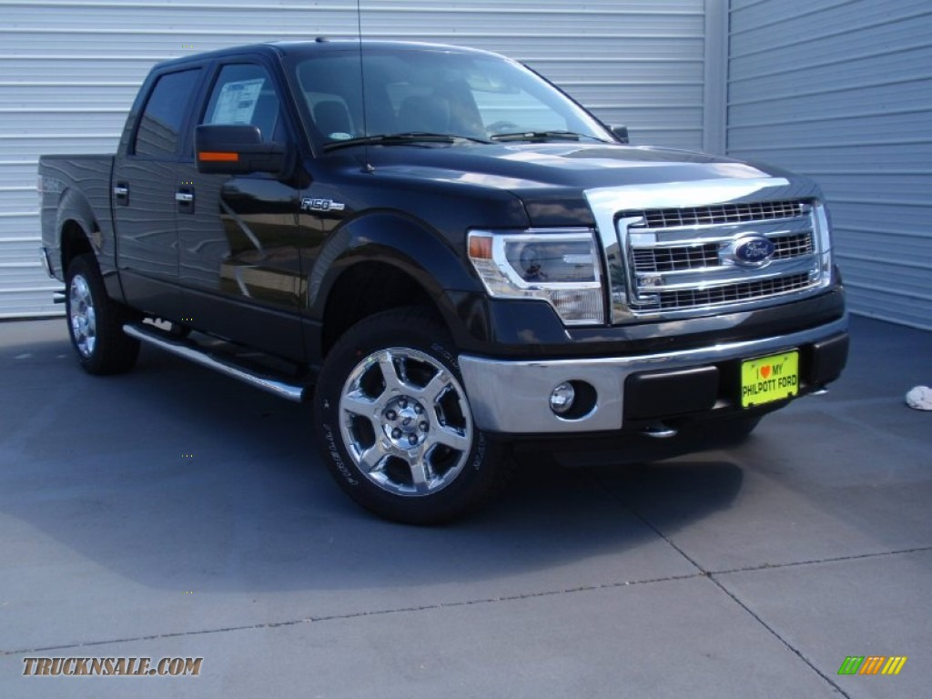 2014 ford f150 xlt supercrew 4x4 in tuxedo black d51764 truck n 39 sale. Black Bedroom Furniture Sets. Home Design Ideas