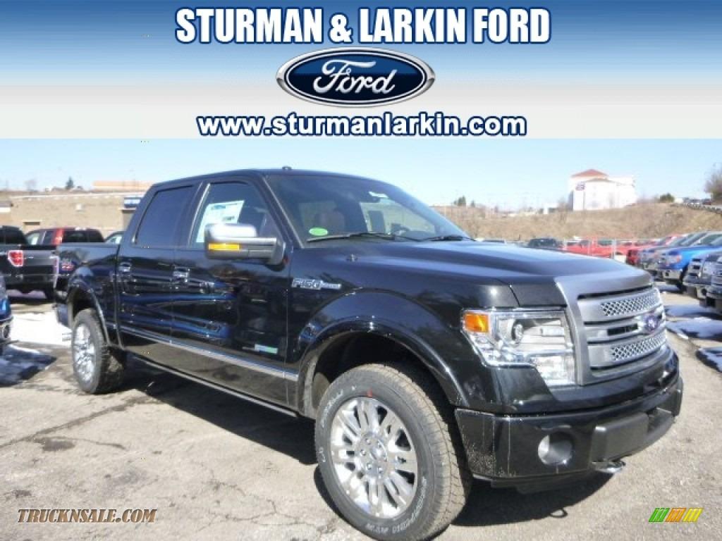 2014 Ford F150 Platinum Supercrew 4x4 In Tuxedo Black