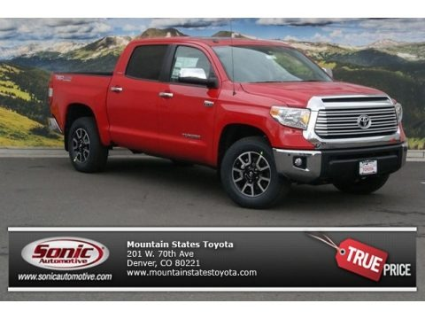 Radiant Red 2014 Toyota Tundra Limited Crewmax 4x4