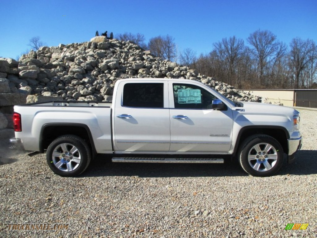 2014 gmc sierra 1500 slt crew cab 4x4 in white diamond