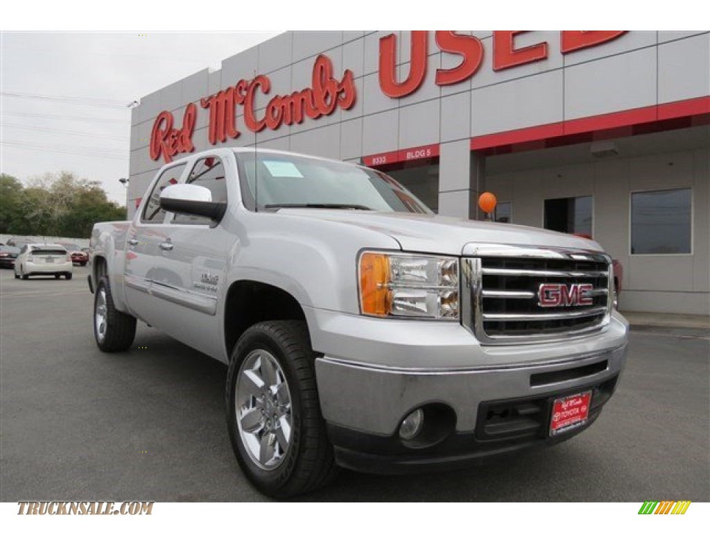 2013 gmc sierra 1500 sle crew cab in quicksilver metallic for Sierra motors san antonio tx