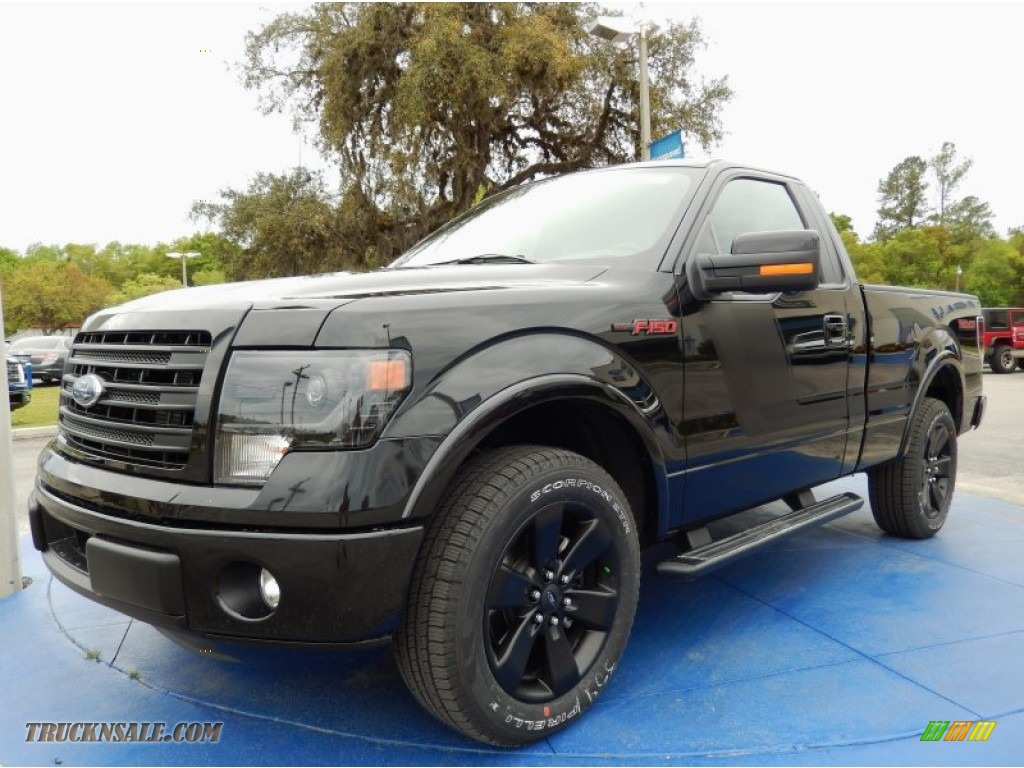 2014 ford f150 fx2 tremor regular cab in tuxedo black. Black Bedroom Furniture Sets. Home Design Ideas