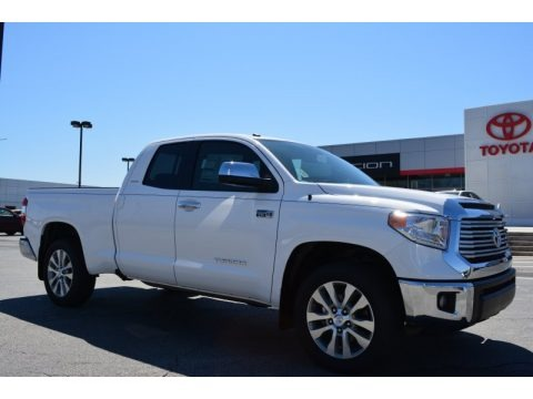 Super White 2014 Toyota Tundra Limited Double Cab