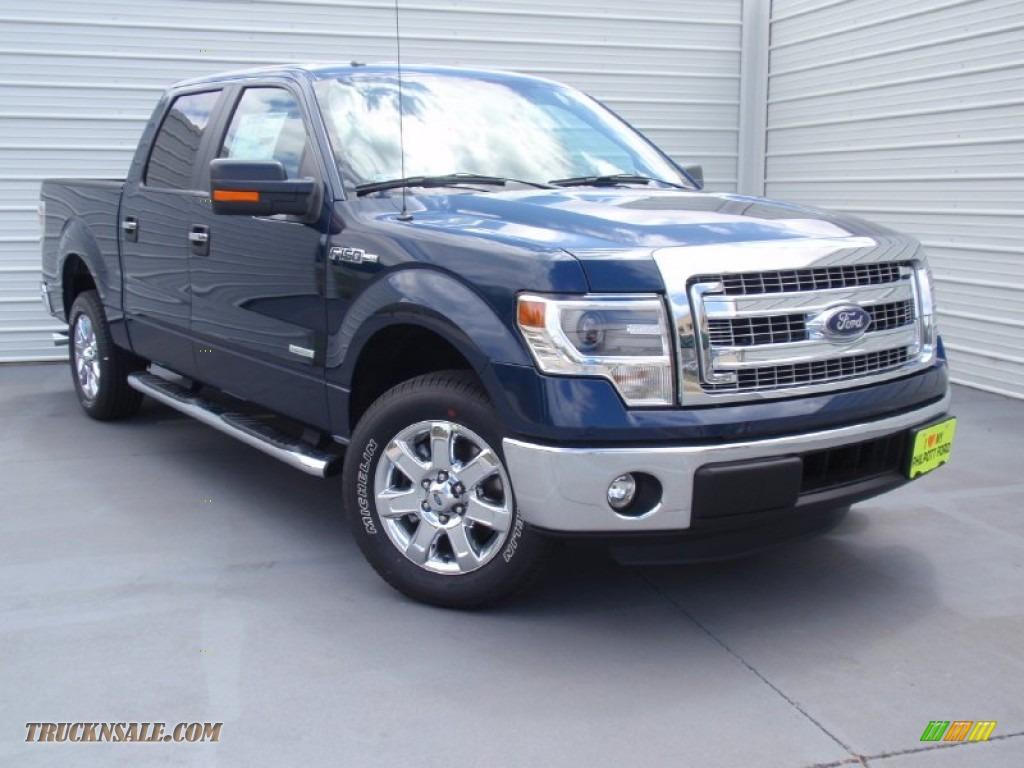 2014 ford f150 xlt supercrew in blue jeans e07051 truck n 39 sale. Black Bedroom Furniture Sets. Home Design Ideas