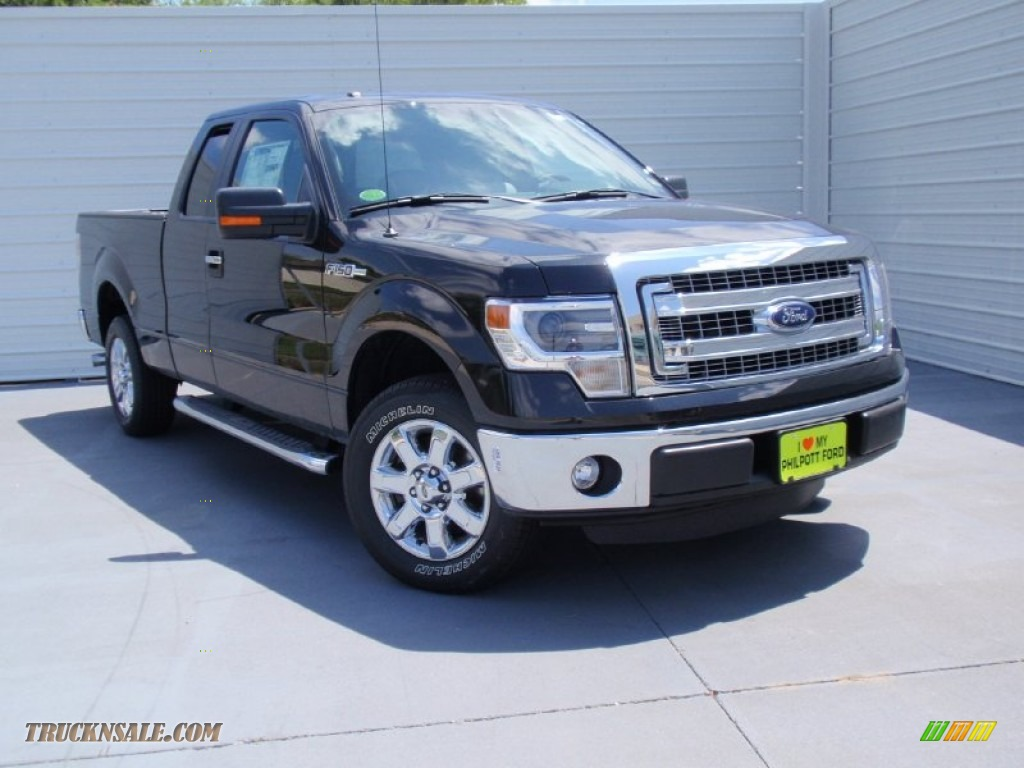 2014 ford f150 xlt supercab in tuxedo black b29505 truck n 39 sale. Black Bedroom Furniture Sets. Home Design Ideas