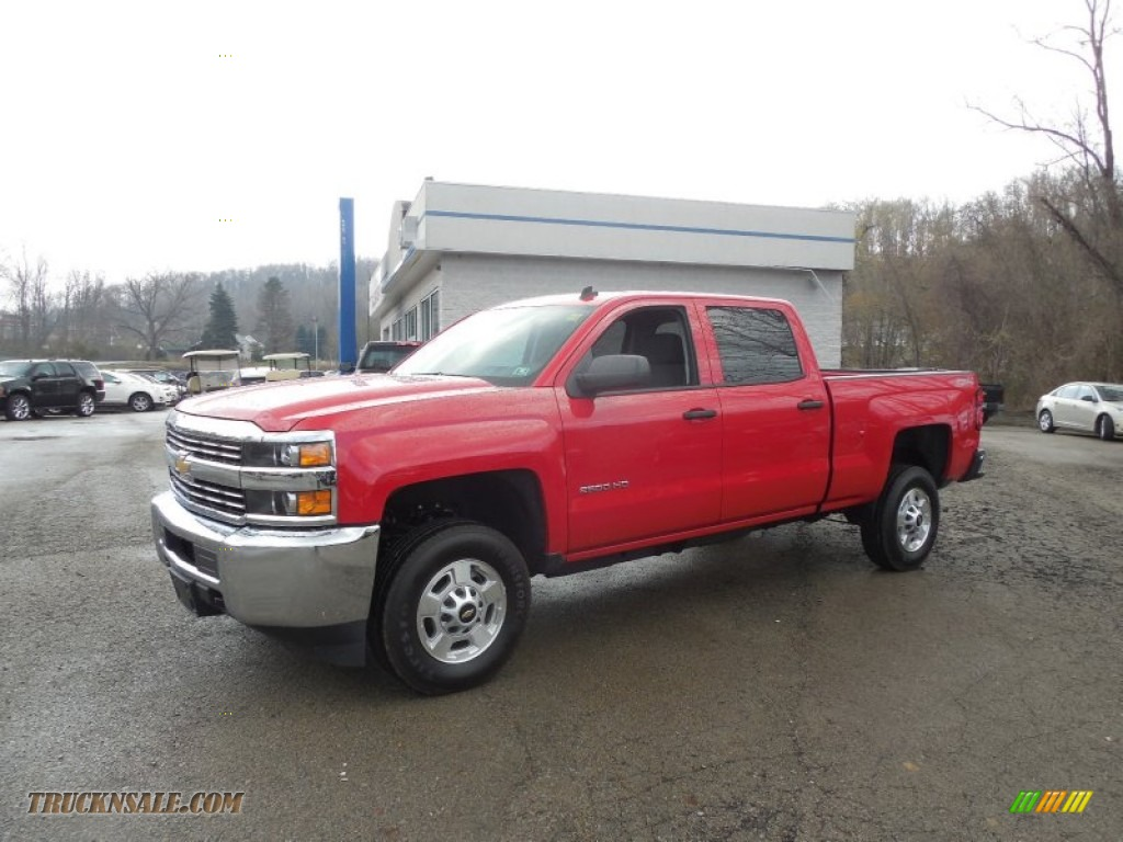 2015 chevrolet silverado 2500hd lt crew cab 4x4 in victory red 103643 truck n 39 sale. Black Bedroom Furniture Sets. Home Design Ideas