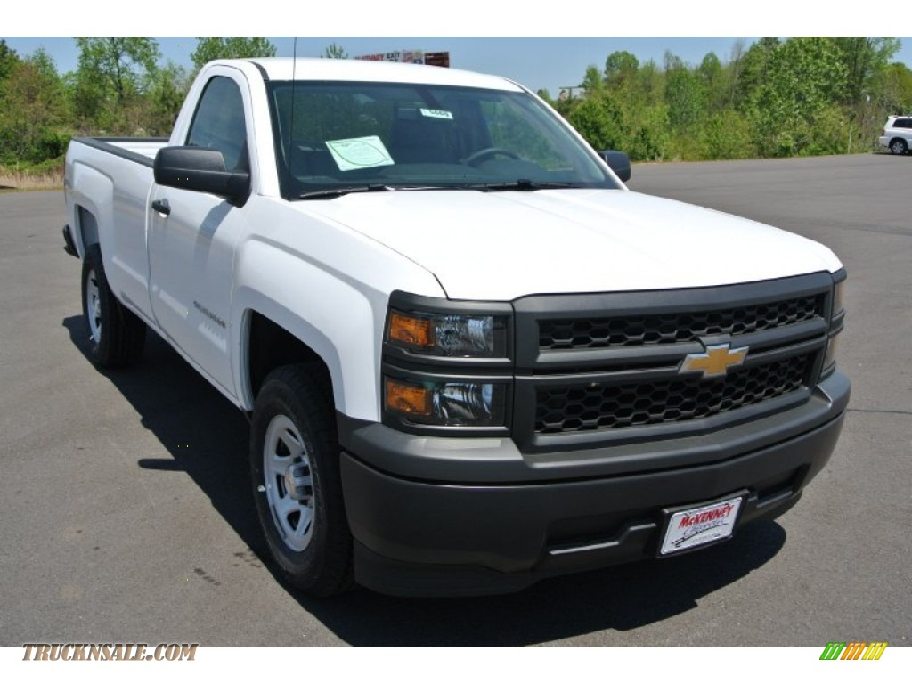 2014 chevrolet silverado 1500 wt regular cab in summit white 273798 truck n 39 sale. Black Bedroom Furniture Sets. Home Design Ideas