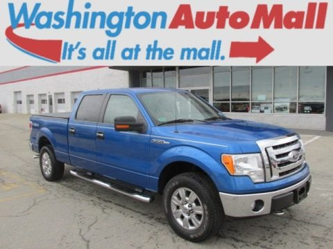 Blue Flame Metallic 2009 Ford F150 XLT SuperCrew 4x4