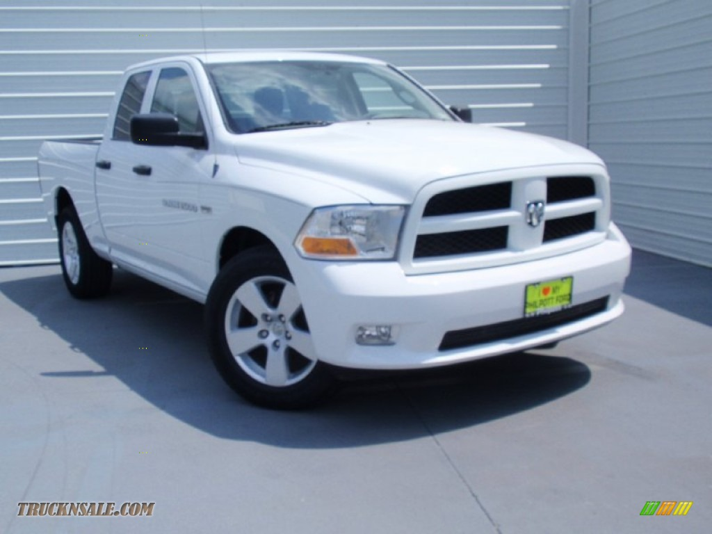 2012 dodge ram 1500 st quad cab in bright white 199142 for Steve white motors inc