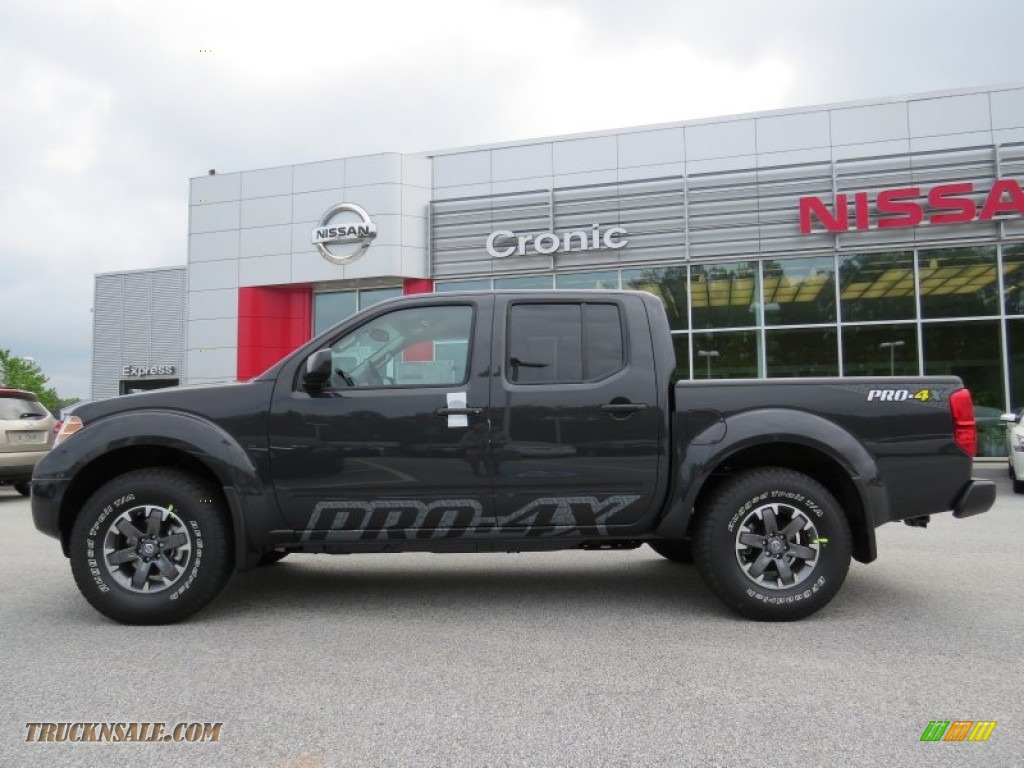 Ron Lewis Jeep >> 2014 Nissan Frontier Pro-4X Crew Cab 4x4 in Night Armor photo #2 - 744195 | Truck N' Sale