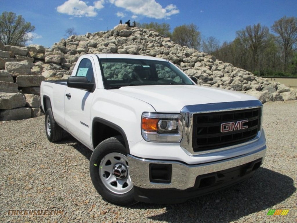2014 gmc sierra 1500 regular cab in summit white 317635 truck n 39 sale. Black Bedroom Furniture Sets. Home Design Ideas