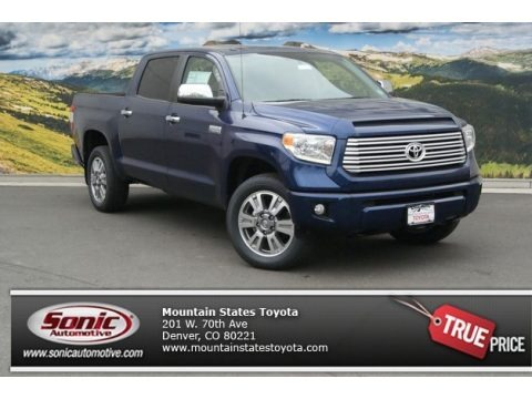 Blue Ribbon Metallic 2014 Toyota Tundra Platinum Crewmax 4x4