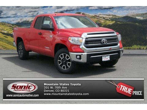 Radiant Red 2014 Toyota Tundra SR5 TRD Double Cab 4x4