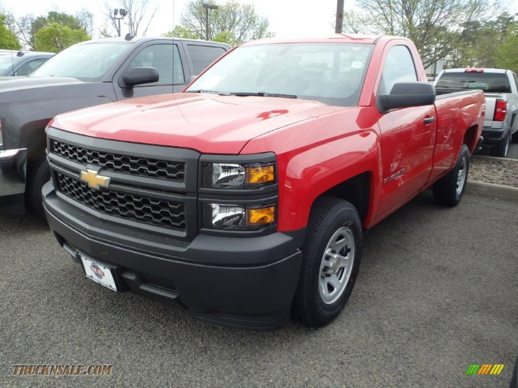 2014 chevrolet silverado 1500 wt regular cab in victory red 305723 truck n 39 sale. Black Bedroom Furniture Sets. Home Design Ideas