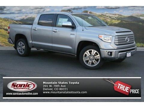 Silver Sky Metallic 2014 Toyota Tundra Platinum Crewmax 4x4