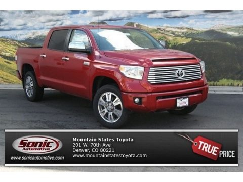 Barcelona Red Metallic 2014 Toyota Tundra Platinum Crewmax 4x4