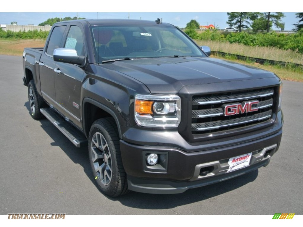 2014 gmc sierra 1500 sle crew cab 4x4 in iridium metallic 448561 truck n 39 sale. Black Bedroom Furniture Sets. Home Design Ideas