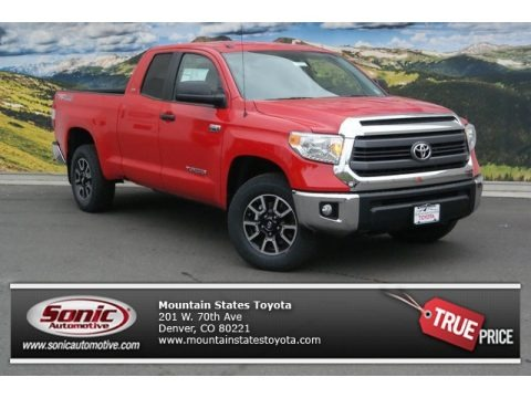 Barcelona Red Metallic 2014 Toyota Tundra SR5 TRD Double Cab 4x4