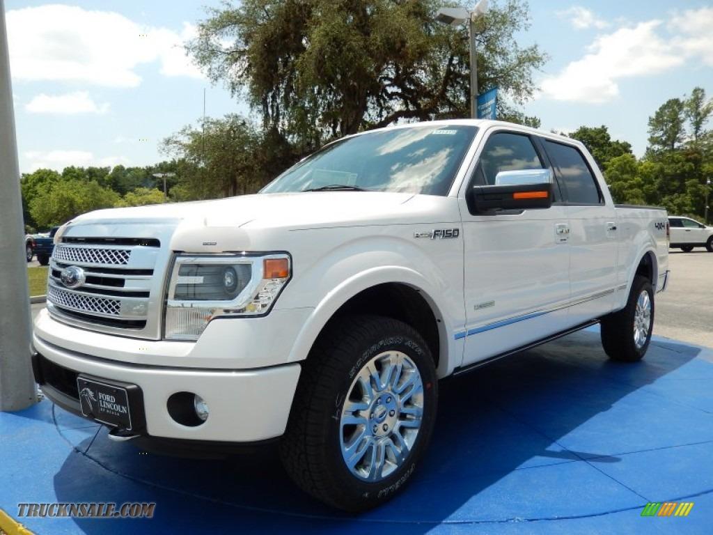 2014 ford f150 platinum supercrew 4x4 in white platinum b82169 truck n 39 sale. Black Bedroom Furniture Sets. Home Design Ideas