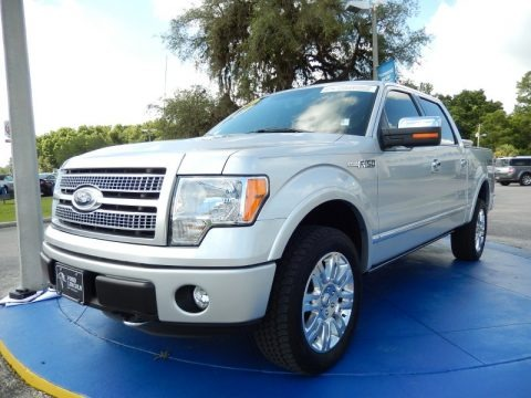 Ingot Silver Metallic 2011 Ford F150 Platinum SuperCrew 4x4