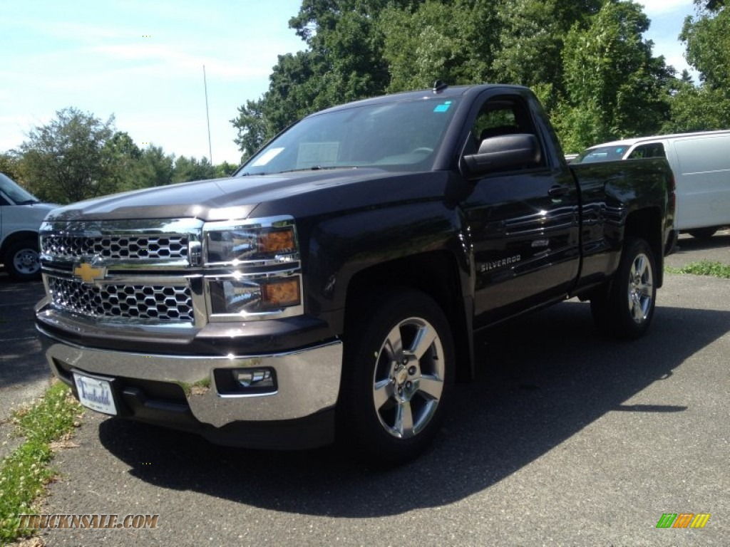 2014 chevrolet silverado 1500 lt regular cab in tungsten metallic 346831 truck n 39 sale. Black Bedroom Furniture Sets. Home Design Ideas