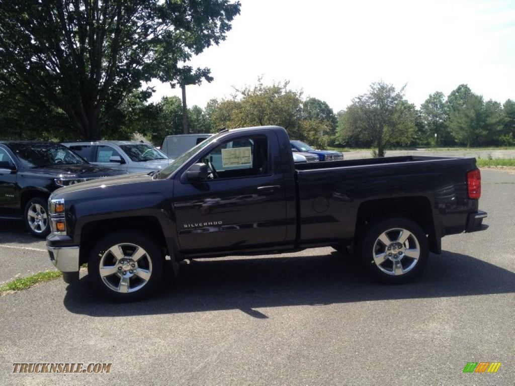 Pine Belt Chevy >> 2014 Chevrolet Silverado 1500 LT Regular Cab in Tungsten Metallic photo #3 - 346831 | Truck N' Sale