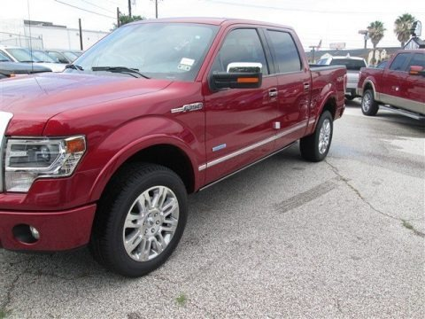 Ruby Red 2014 Ford F150 Platinum SuperCrew 4x4