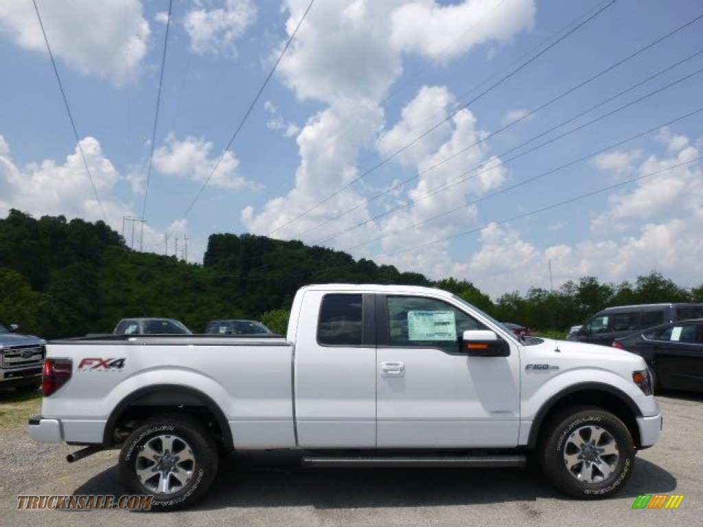 2014 ford f150 fx4 supercab 4x4 in oxford white a47975 truck n 39 sale. Black Bedroom Furniture Sets. Home Design Ideas