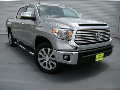 Silver Sky Metallic 2014 Toyota Tundra Limited Crewmax