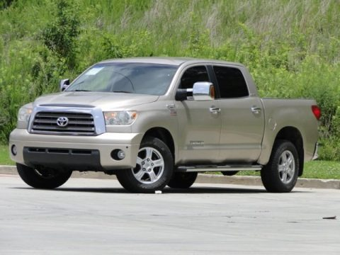Desert Sand Mica 2007 Toyota Tundra Limited CrewMax